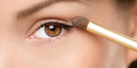 BeautyZoom, Beauty Magazin, Augen richtig schminken, Schlupflider schminken, Augen, Augen Make-up, Ausstrahlung, Beauty, Glow-Effekt, Haut, Make-up, Make-up Tricks, Natürliche Schönheit, Schlupflider, Schlupflider kaschieren
